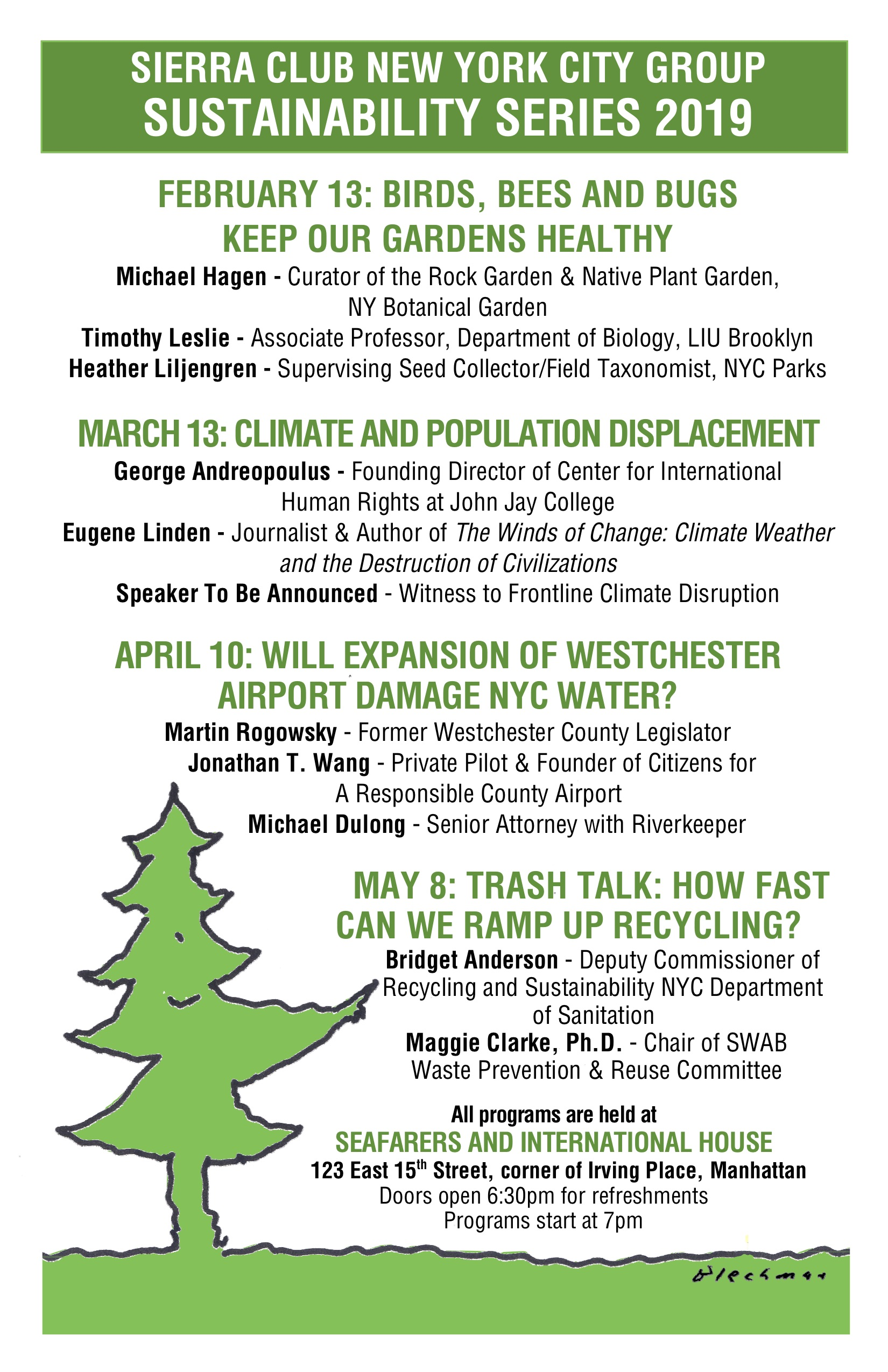 Climate and Population Displacement - The Sierra Club of New